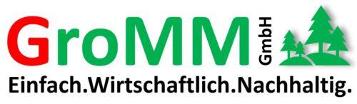 Logo GroMM auf weiß