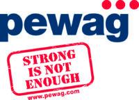 Ausstellerverzeichnis_Logo_pewag_strong is not enough_4c